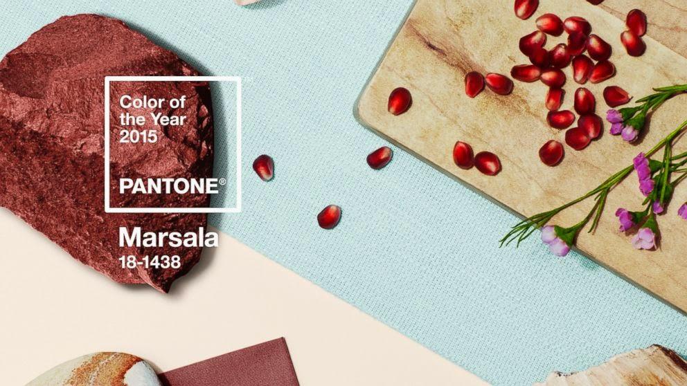 Marsala color - Color del 2015 según PANTONE